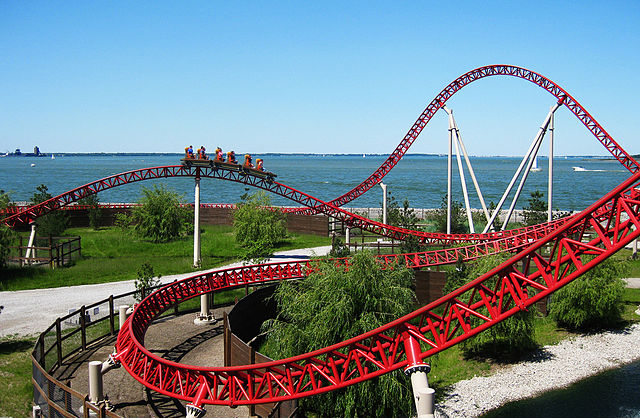 Family Vacations - Cedar Point Rollercoaster