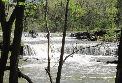 Rock Creek Lake Waterfalls