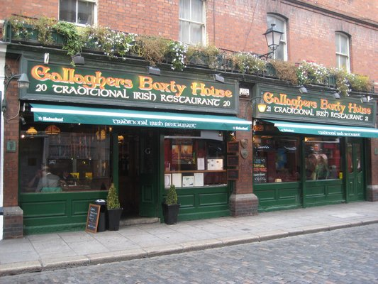 Gallaghers Boxty House Dublin Ireland