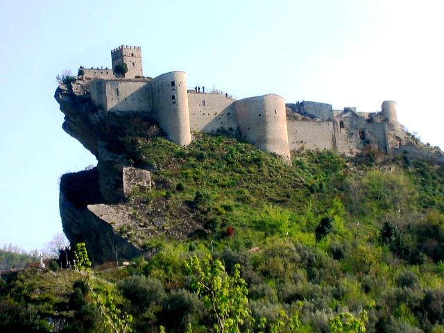 The Roccascalegna Castle, Abruzzo Italy