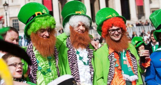 St. Patrick's Day Parade Dublin Ireland