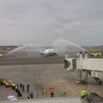 Emirates Airlines Welcomed To Boston With A Water Cannon Salute