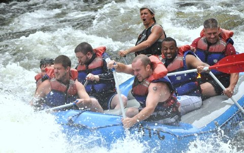 MagicFalls River Rafting