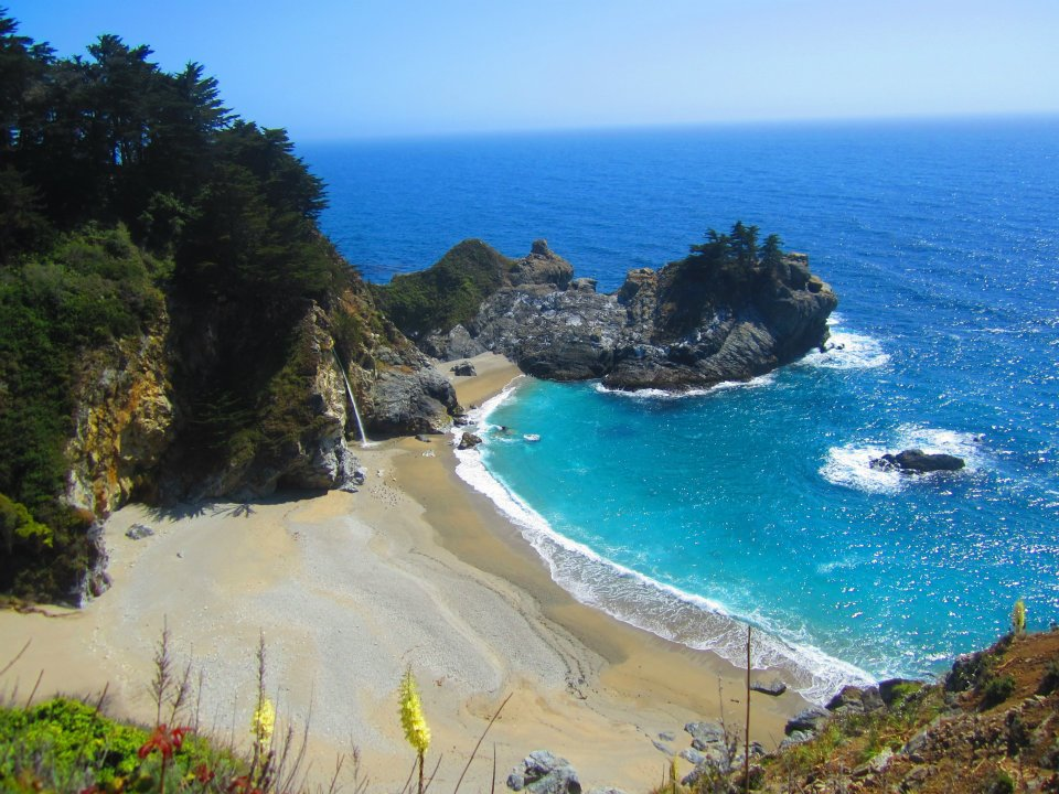 McWay Falls at Big Sur California