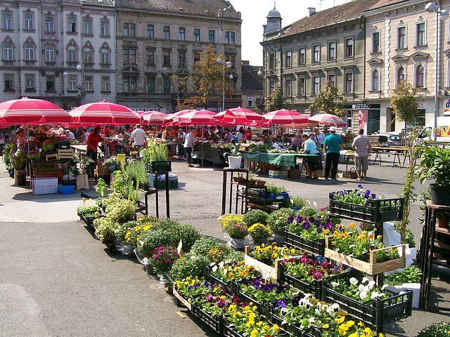Zagreb Market, Croatia