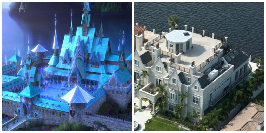 Frozen - Elisa's Castle