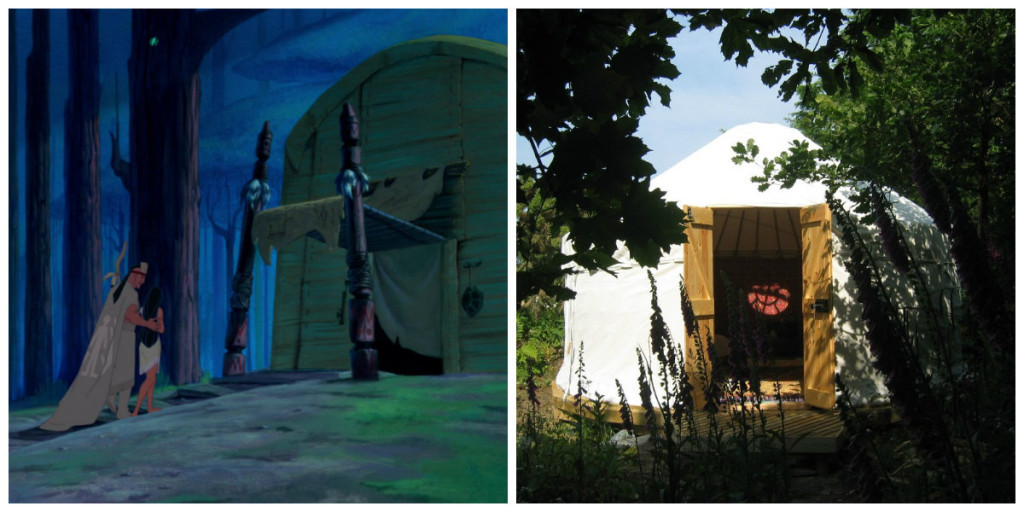 Pocahonta's Home