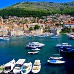 Croatia, Dubrovnik Harbor