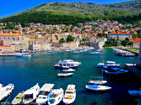 Croatia, Dubrovnik Harbor