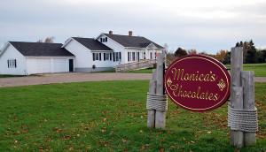 Monica's Chocolates, Lubec, Maine