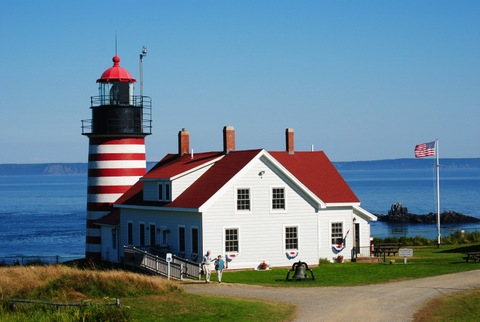 West Quoddy Lighthouse Lubec Maine