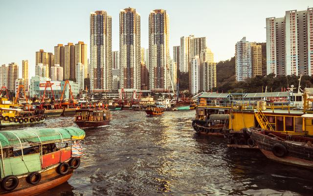 Aberdeen Floating Village Hong Kong