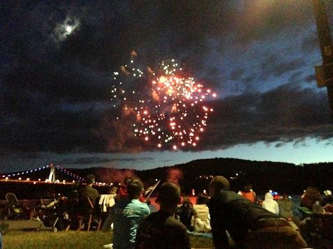 Poughkeepsie Fireworks
