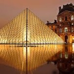 Louvre View at Night