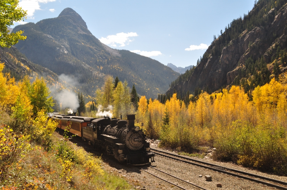 Durango Fall Foliage Train