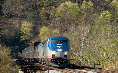 Amtrak Foliage Train