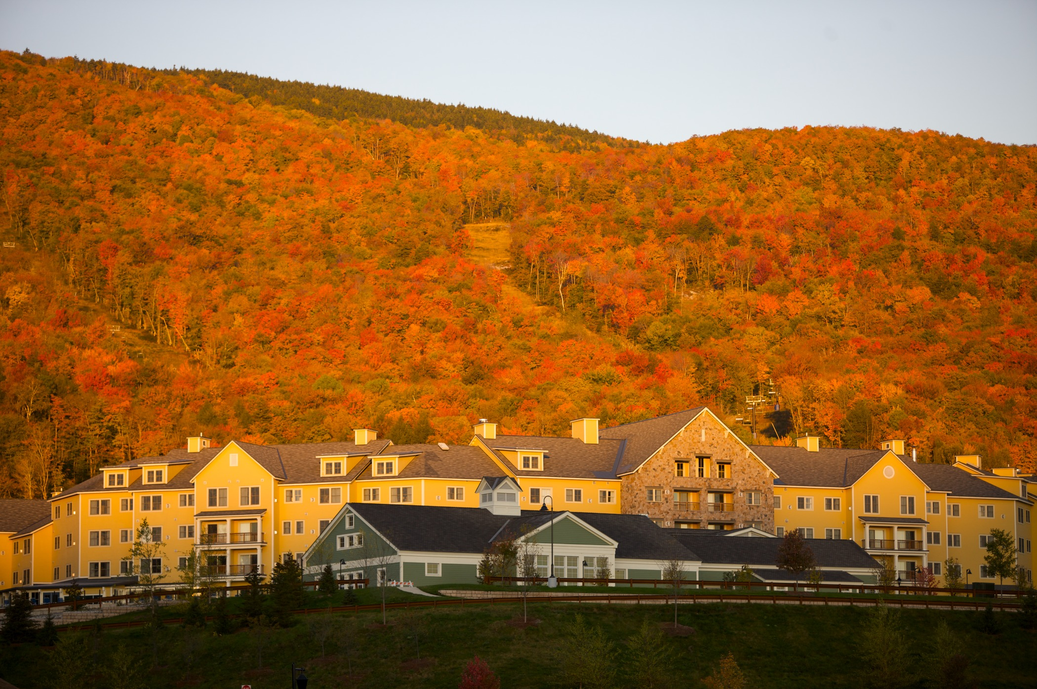 Fall Folage at Okemo Mountain Resort