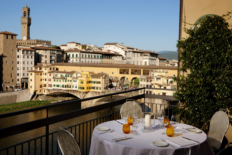 Wonderfully Romantic Rooftop Restaurants In Florence
