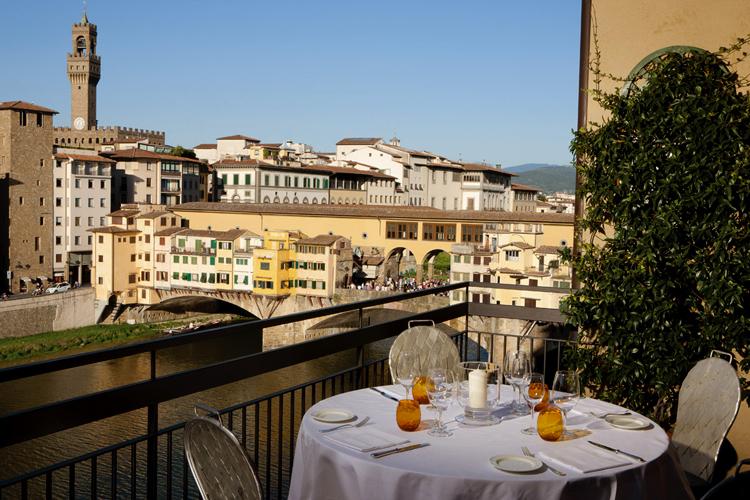 Hotel Continentale La Terrazza Bar Florence