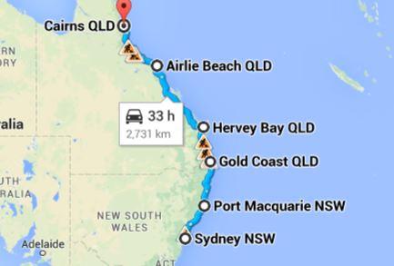 Australia Coastal Road Trip
