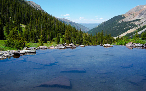5 Hikes To Heavenly Hot Springs in Colorado