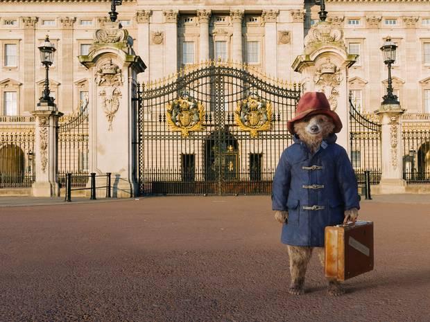 Paddington Bear at Buckingham Palace