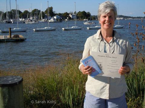Pass sailing exam