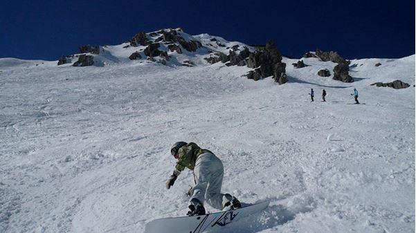 Snowboarding St. Anton Austria