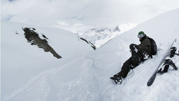 Tignes Snowboarding, France