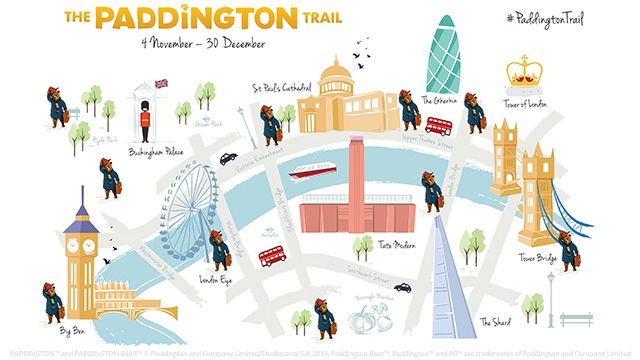 Paddington Trail Map