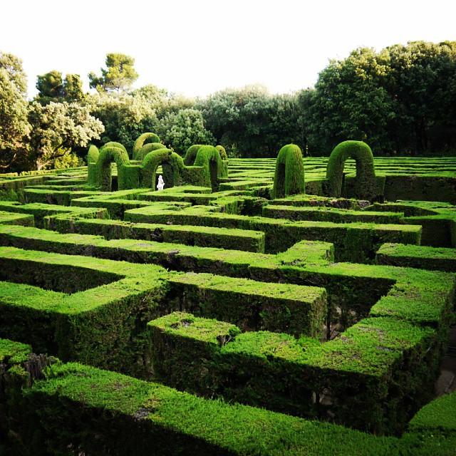 Horta Labyrinth Park Barcelona