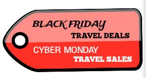Black Friday Cyber Monday Travel Sales