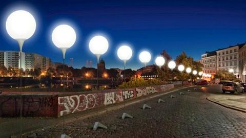 25 Anniversary Berlin Wall Balloons