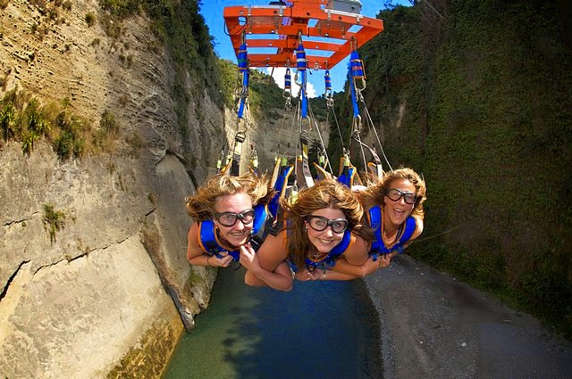 Mokai Gravity Canyon New Zealand