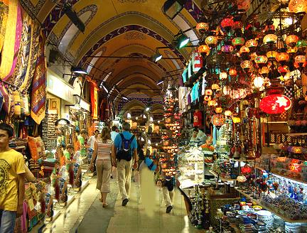 Bazaar in Turkey
