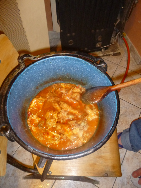 Cooking On A Chiar
