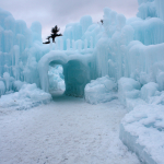 When Winter Gives You Ice Castles – Come Out And Play!