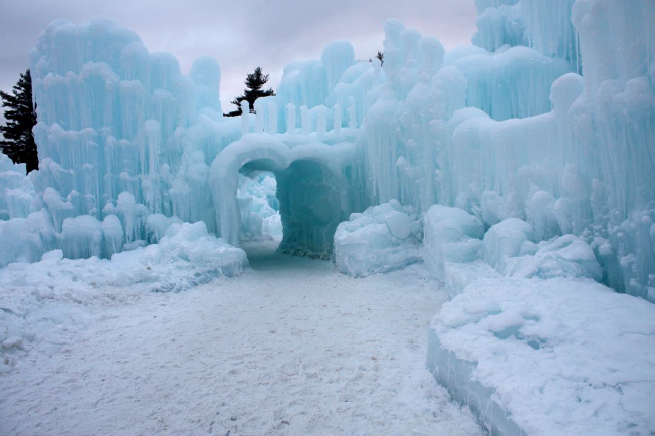 When Winter Gives You Ice Castles Come Out And Play