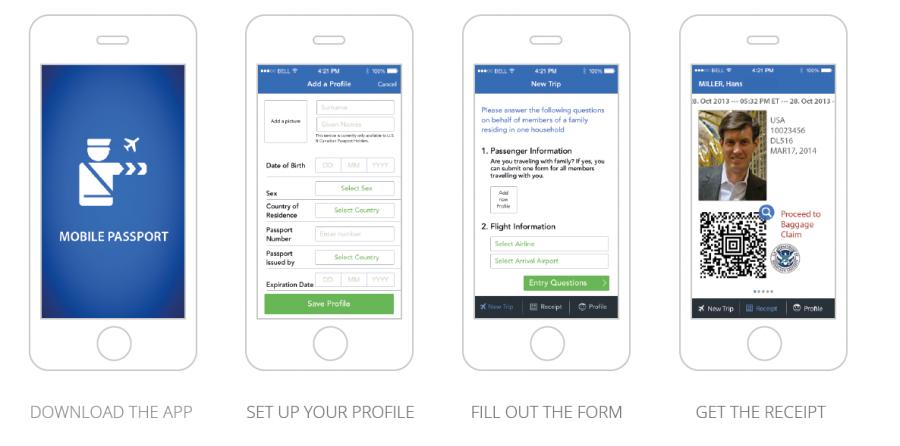 Mobile Passport App