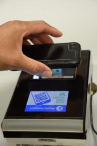 Mobile Passport Control Reader