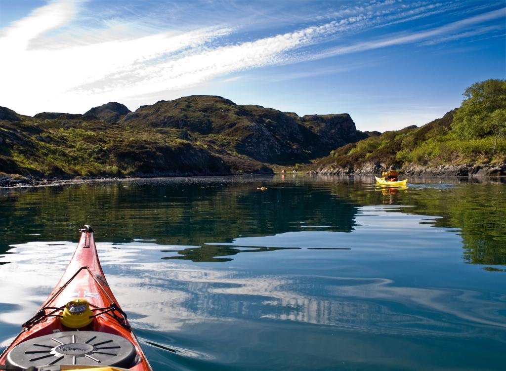 Sea Kayaking Tour in Scotland