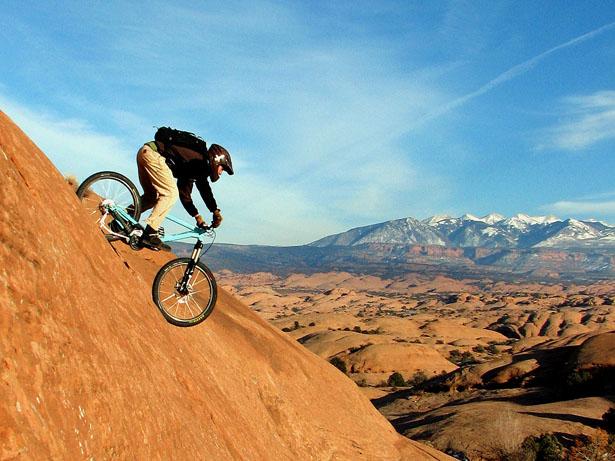 Mountain Biking in Moab Utah