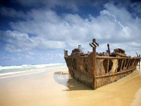 Fraser Island Ship Wreck