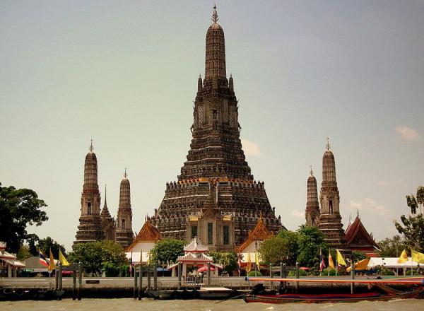 Wat Aran Temple Bangkok Thailand