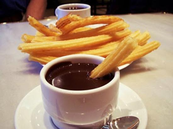 Churros y Chocolate - Spain