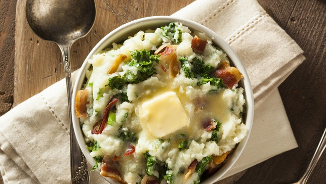 Colcannon Breakfast Dish Ireland