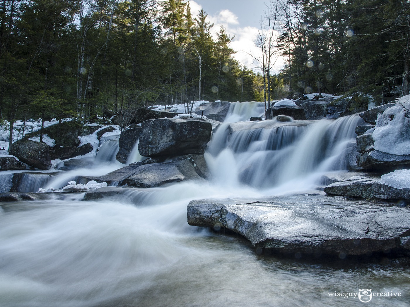 Diana's Bath Waterfall, NH, PhotobyDanHoude-WiseguyCreative