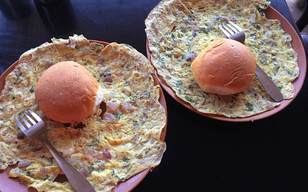 Indian Masala Omelette