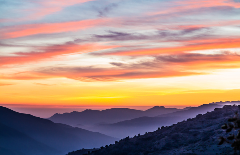 La Alpujarra Sunset