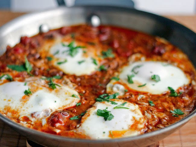 shakshouka Egg Bake, North Africa and Israel